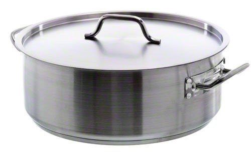 Update International (SBR-20) 20 Qt Stainless Steel Brazier