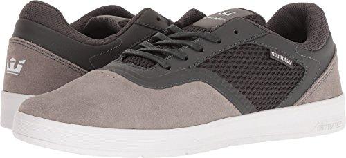 Supra Mens Saint Shoes Grigio Scuro / Grigio / Bianco