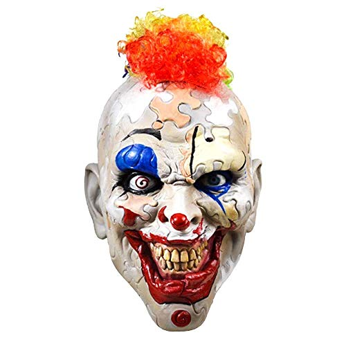 Puzzle Face Clown American Horror Story Cult Halloween Adult Mask