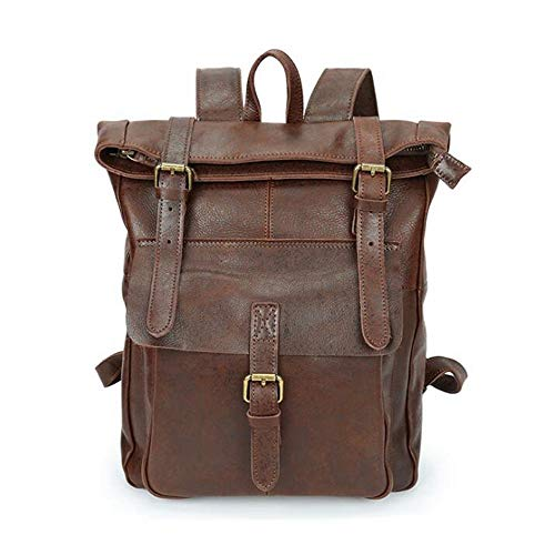 Per Scuola Igspfbjn Pelle 2 Bookbag Anti Soft Uomini Collegio Business Theft Portatile Zaino Borse Computer Da Viaggio In color Gli 2 Leather rq78WBvU1q