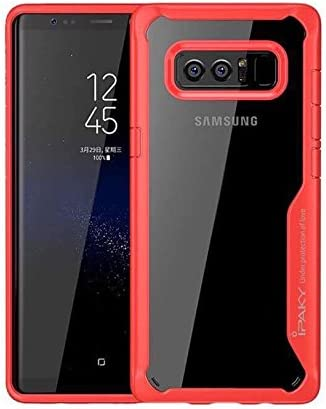 Ipaky Survival - Carcasa para Samsung Galaxy Note 8 (TPU, antiarañazos, resistente a las huellas dactilares), transparente: Amazon.es: Electrónica
