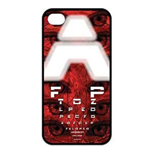 Special Designer Snellen Eye Chart Silicon iPhone 4/4S Case, Snap on Protective Eye Chart iPhone 4/4S Case