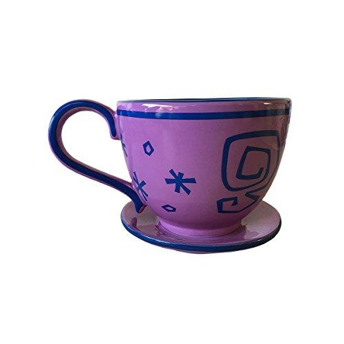 Disney Alice in Wonderland Mad Tea Party Lavender Purple Teacup Mug