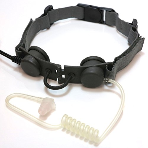 Z Tactical Model No. Z033 Tactical Throat Mic Headset ACU Foliage Green FG ()