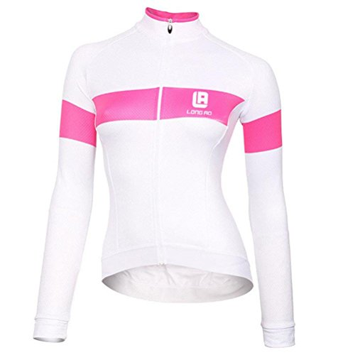 Christmas FHSom Women's's Long Sleeve Full Zip Cycling Breathable Quickly Dry Bicycle Outdoor Jersey Jacket Coat Tops (Italian Outdoor Furniture Manufacturers)