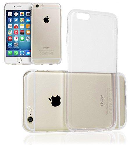 iPhone 6 6S (4,7 Zoll) Hülle TPU Case Schutzhülle Silikon Crystal Case Durchsichtig iphone6 iphone6s - Movoja®