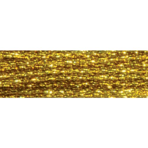 DMC Light Effects Embroidery Floss 8.7 Yards-Dark Gold
