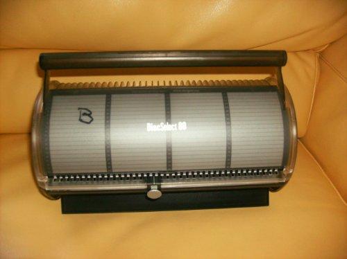 DiscSelect 80 - 80 Disc Retrieval System Clear Black ()