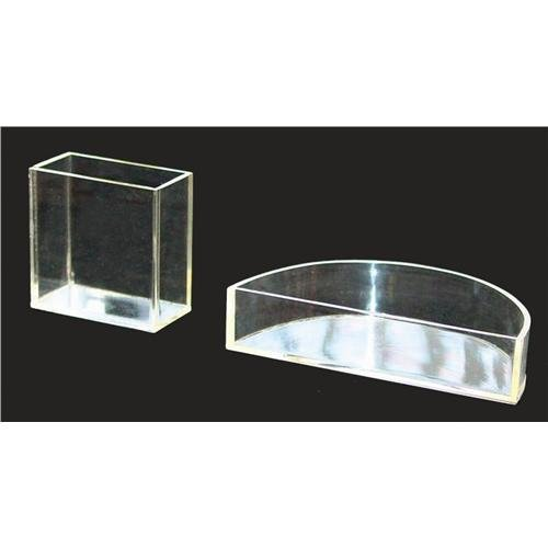 United Scientific Supplies RCRC01 Rectangular Refraction Cell, 6 cm Length, 6.2 cm Height, 3 cm Wide