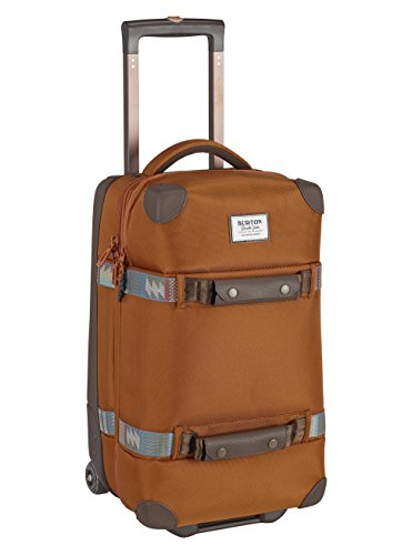 (Burton Wheelie flight deck travel bag luggage, True Penny Ballistic, One Size)