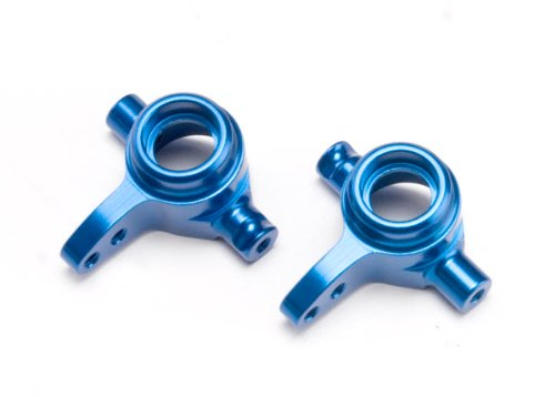 Traxxas 6837X Blue-Anodized 6061-T6 Aluminum Left and Right Steering Blocks