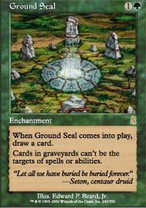 Ground Seal - Magic: the Gathering - Ground Seal - Odyssey