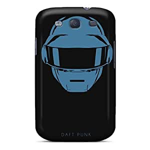 Samsung Galaxy S3 EyL16054FuCj Unique Design Trendy Daft Punk Band Pictures Perfect Hard Phone Cover -InesWeldon