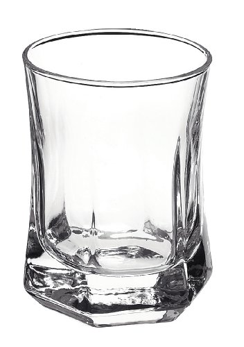 Bormioli Rocco Capitol Single Shot Glass 2 OZ, Set of 6