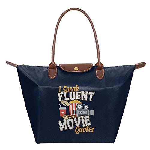 Adwelirhfwer Unisex I Speak Fluent Movie Quotes Baby Pack Navy by Adwelirhfwer