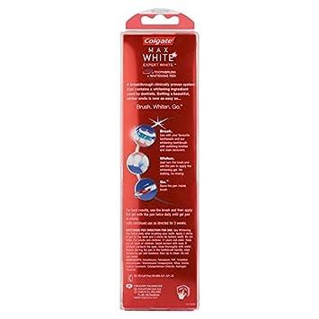 Lapiz blanqueador colgate max white expert y cepillo: Amazon.es: Salud y cuidado personal