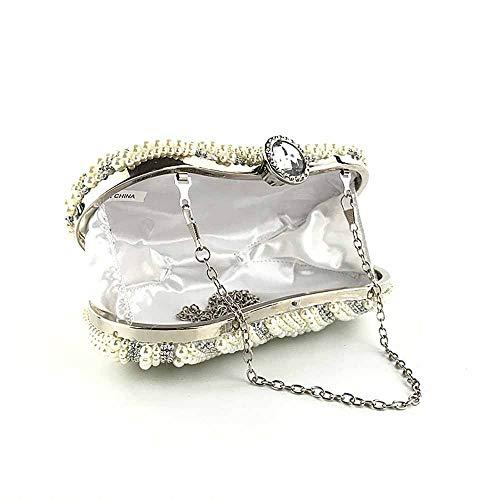 Sposa Con Qualità Borsa Fibbia Borsa Di Lusso Con Fibbia Bordino Da Alta Mano A Borsa Da Di Donna Sera Diamantata Ovale Da Diamanti Con Di gwxqx0v1X
