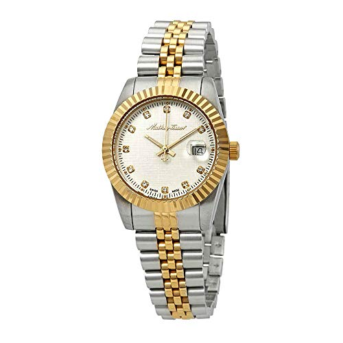 Iii Silver Dial - Mathey-Tissot Rolly III Crystal Silver Dial Ladies Watch D810BI