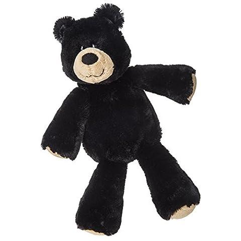 Mary Meyer Marshmallow Zoo Black Bear Plush Toy, 13-Inch (Rugged Bear Plush)