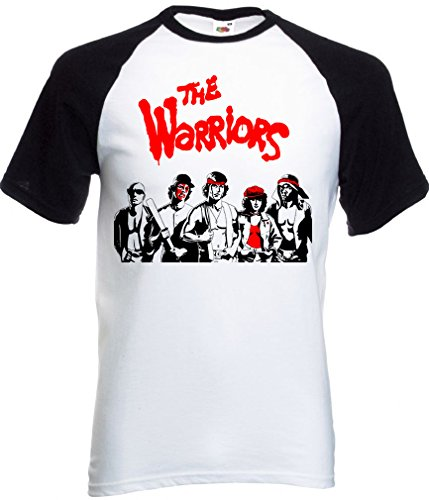 Camiseta Film Retro Negro Warriors The Shirts Blanco Abrastore Jersey 80 Mesh InOr1qI0F