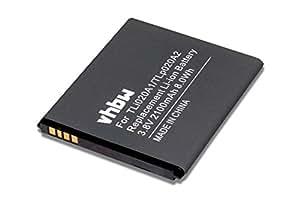 vhbw Li-Ion batería 2100mAh (3.8V) para Smartphone, teléfono móvil Alcatel One Touch POP S3, POP Star por TLp020A2, TLi020A1.