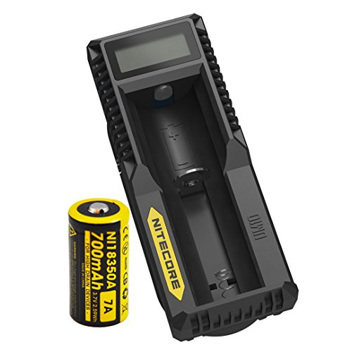 Nitecore One IMR 18350 Rechargeable Battery UM10 Charger [EC11]
