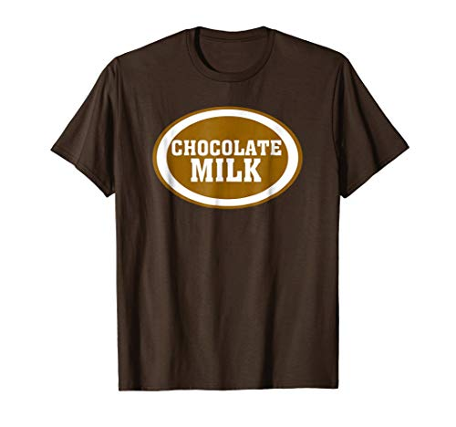 Chocolate Milk Funny Halloween DIY Costume Sarcastic T-Shirt -