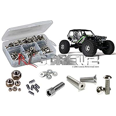 RCScrewZ Axial Wraith RTR/PRO Stainless Steel Screw Kit, Complete Replacement Set for RC Car Rusted and Stripped Screws, Race Quality Upgrade, Assembled in USA. axi004 for Axial kit (AX90018): Toys & Games