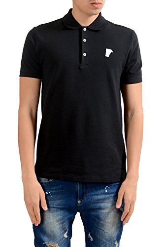 Versace-Collection-Mens-Black-Short-Sleeves-Polo-Shirt-US-L-IT-52