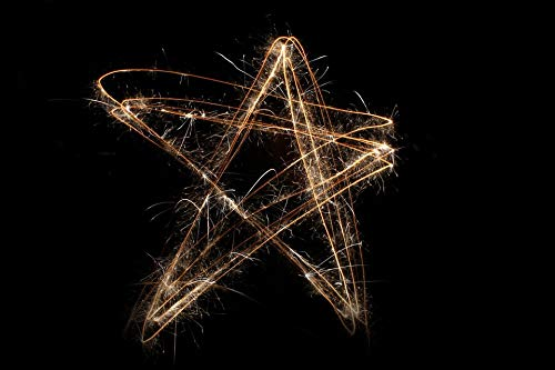 Photography Poster - Star, Sparkler, 4Th Of July, Circle, -