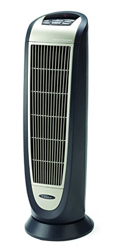 Discover Bargain Lasko 5160 Ceramic Tower Heater with Remote Control, Black 5160
