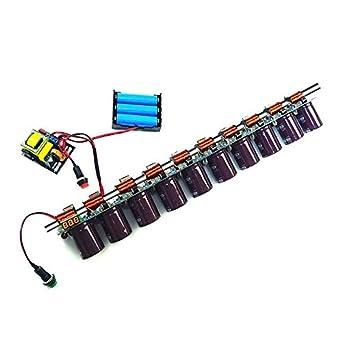 10-Stage Electromagnetic Coilgun Lab Experimental Module Set