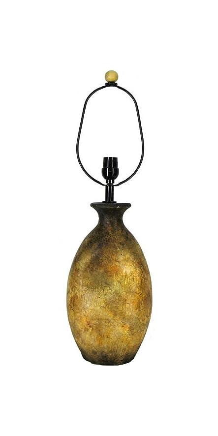 Eangee 931 Traditional Terracotta Lamp Base, Green - - Amazon.com