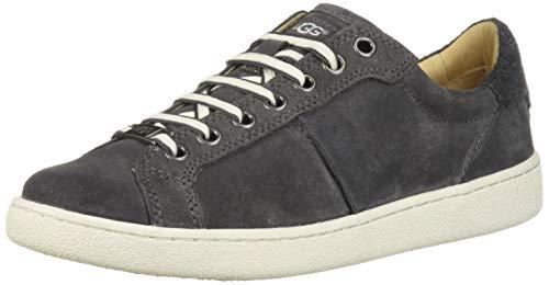 UGG Women's W Milo Sneaker, Charcoal, 9 M US