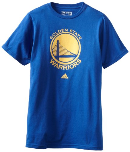 NBA Golden State Warriors Primary Logo T-Shirt, Large, Blue