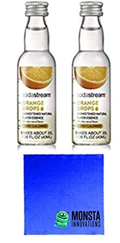 SodaStream Fruit Drops Orange - 2 Pack