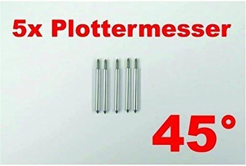5 x 45° pour roland plottermesser helo secabo et autres traceurs traceur de découpe: Amazon.es: Juguetes y juegos