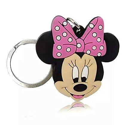 Llavero de Goma con diseño de Minnie Mouse: Amazon.es: Equipaje