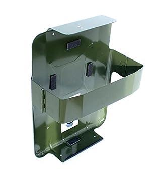 Amazon.es: SPP - S20VCM - Soporte METALICO Jerry Can/GARRAFA/BIDON Verde Tipo Cinturon METALICO - para EL Transporte DE Gasolina - Diesel - KEROSENO 20 LTS