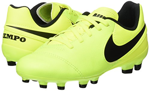 Pictures of NIKE Youth Tiempo Legend VI FG Cleats [Volt] (5Y) 5 M US Big Kid 4
