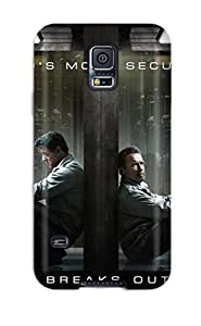 Protective Tpu Case With Fashion Design For Galaxy S5 (escape Plan 2013 Movie)