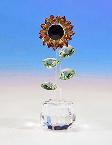 CRYSTAL WORLD Spring Sunflower (Swarovski Sunflowers)