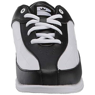 Brunswick Bliss Women's Bowling Shoes, 11, Black/White: Sports & Outdoors