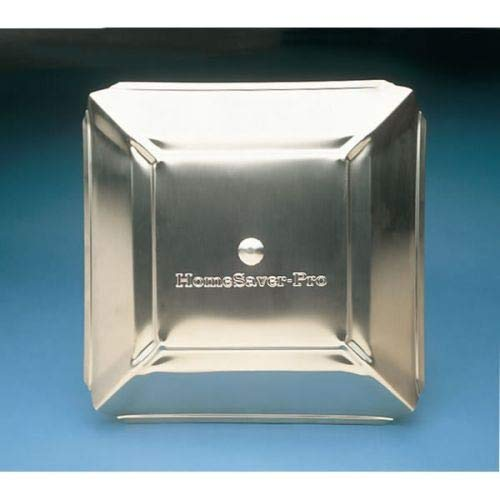 Homesaver 14601 8 Inch x 8 Inch HomeSaver Pro Stainless Steel Chimney Cap 304-alloy 18-ga. Base And Mesh 24-ga. Lid