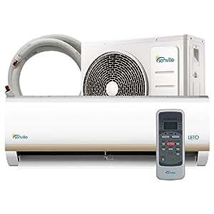 Senville SENL-12CD 12000 BTU 15 SEER Split Air Conditioner and Heat Pump, Mini