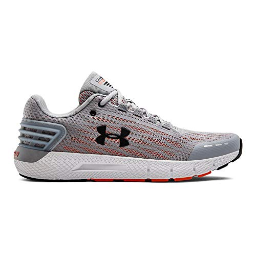 Under Armour Men's Charged Rogue Running Shoe, Mod Gray (102)/Papaya, 9 M US ()