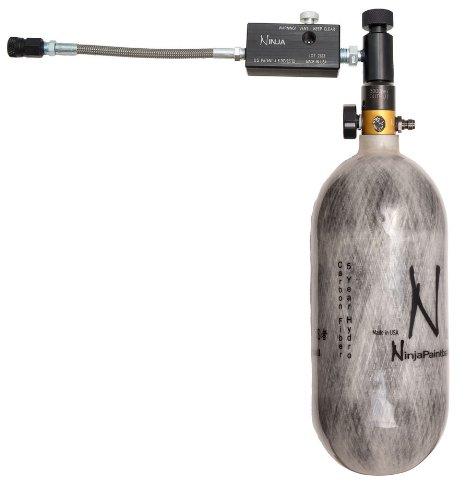 Zebra DNA Ninja 4500 psi Carbon Fiber Air Tank & Fill Station for PCP