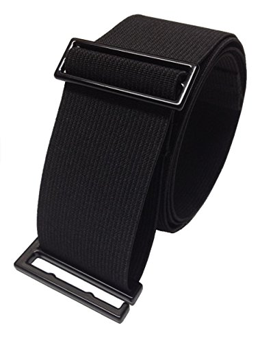 SkinniBelt Women's Elastic Belt L Black from SkinniBelt