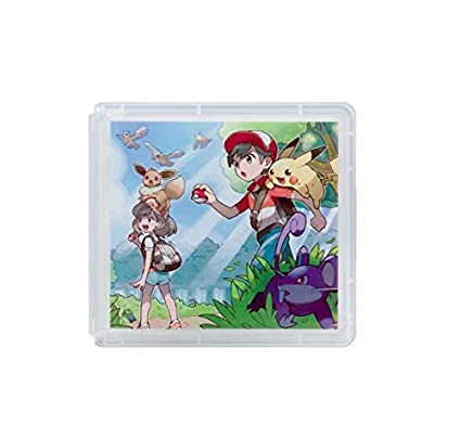 Amazon.com: Pc Pokemon Pikachu Eevee Nintendo Switch Card ...