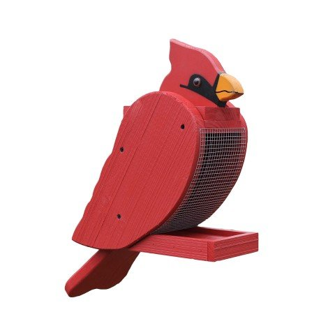 Amish Craftsman Cardinal Bird Feeder